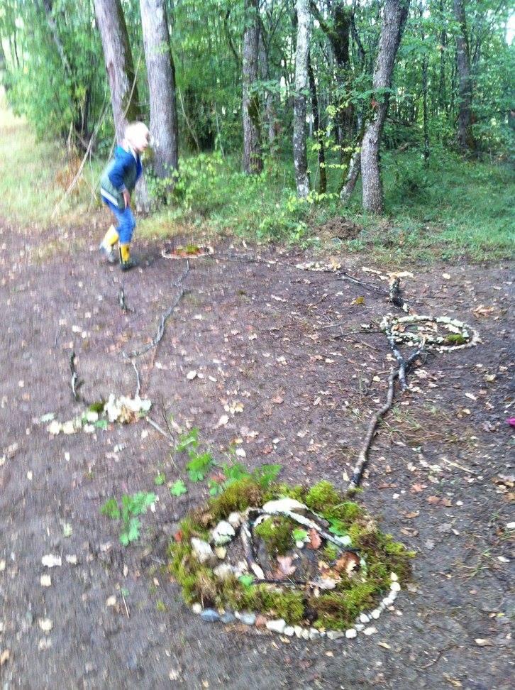 Sortie automnale en forêt